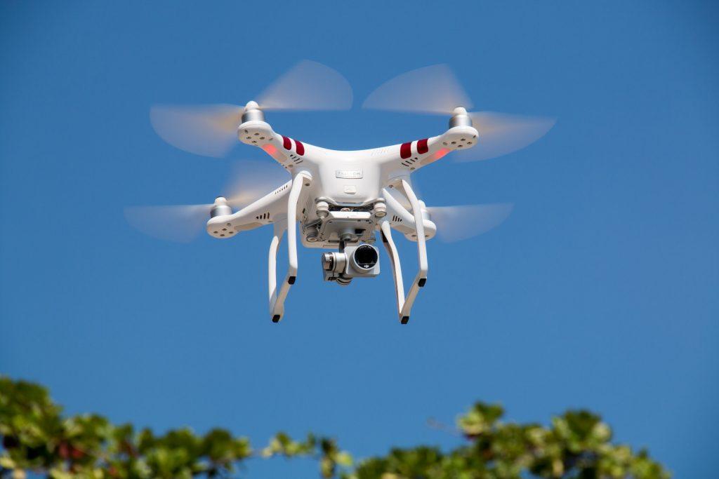 onrechtmatige drone
